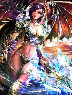 Agnes- The Dragon Slayer (lv4) by KenshjnPark on DeviantArt