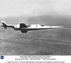 Douglas X-3 Stiletto, 1952