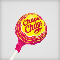Chupa Chups Lollipops with Dali's logo.