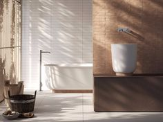 Countertop round single washbasin HAMMAM | Washbasin - Rexa Design