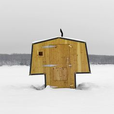 This gorgeous gallery of Canadian ice-fishing huts will have you reeling – Cottage Life Ice Fishing Huts, Fishing Shack, Mobile Architecture, Architecture Details, Ice Shanty, Cool Sheds, Tiny House Cabin, Tiny Houses, Small Buildings