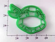 Ninja Turtle Cookie Cutter via Etsy