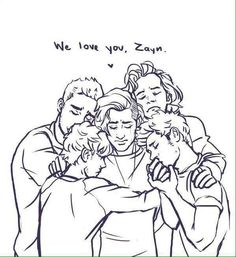 Zayn we support you. We love you and respect your decision. This is a hard time for this fandom but we're all in this together.