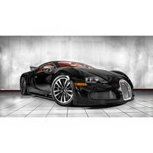 Rare Bugatti Veyron Sang Noir edition. Priced at $2,300,000 if you're looking for a new car :)
