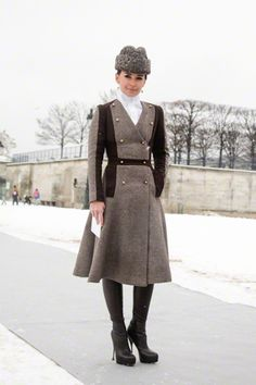 The Garage Starlets: Paris Haute Couture Street Style