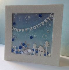 Marianne's cards 'n stuff: Happy Holidays Shaker