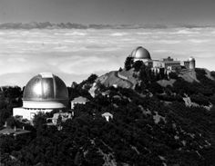 Ansel Adams Lick Observatory, View East from Fire Lookout Tower 1964