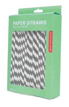 striped paper straws - 144 for $7