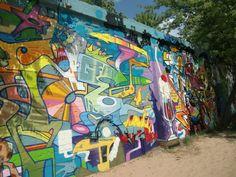 A Berlin Graffiti Wall