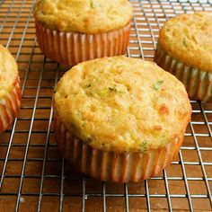 Low carb- cottage cheese scallion & cheddar breakfast muffins