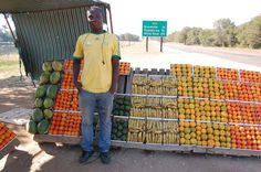 Fruit seller in Northern Cape (South Africa) - Source: www.myfruit.it