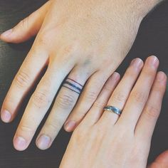 78 Wedding Ring Tattoos Done To Symbolize Your Love | Wedding ring ...