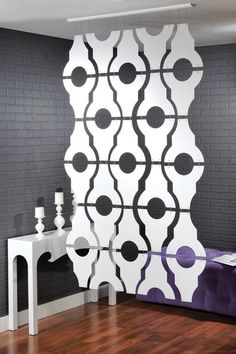 Functional Wall Decor by Nexxt, Sotto Condo Room Divider