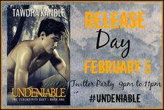 #Book #Promo #Undeniable #ReleaseDay #TawndraKandle