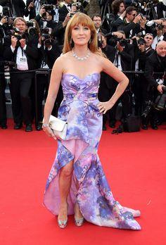 Jane Seymour au Festival de Cannes