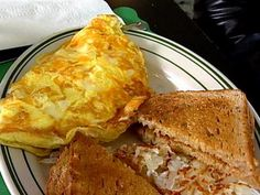 Three Cheese Omelette Recipe | Food Network