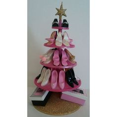 Barbie's 45th Anniversary Shoe Tree Hallmark Ornament 2004 NIB || Available for sale via the pin's link.