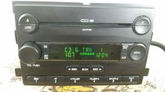 F150 MUSTANG FREESTYLE MONTEGO 6 Disc CD Changer Radio OEM 5F9T-18C815-GA (3616) #FORDOEM
