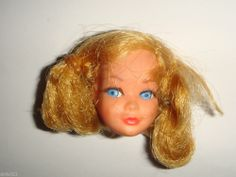 Vintage Barbie Mattel  New Living SKIPPER DOLL HEAD parts