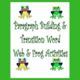 This digital download offers a 30-page PDF. It was created to help students understand the organizational structure or framework of written language. Without the added worry of handwriting, spelling, or generating ideas, young learners can practice sequencing and webbing ideas. #paragraphbuilding #transitionalwords #categorizing Frog Activities, Word Web, Improve Writing, Transition Words, Organizational Structure, Emotional Regulation, Executive Functioning, Activity Board, Teaching Language Arts