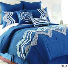 Kira Embellished 8-piece Comforter Set | Overstock™ Shopping - Great Deals on Comforter Sets