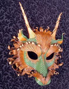 Great Forest Dragon by merimask.deviantart.com on @deviantART