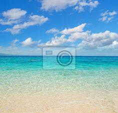 Fotomural nubes sobre la costa de Cala Mariolu