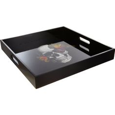D.L. & Co - Blooming Skull Tray - http://candles.pinterestbuys.com/d-l-co/d-l-co-blooming-skull-tray/