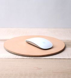 love dart leather and felt mousepad.