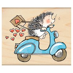 Penny Black Rubber Stamp Sweet Ride