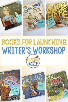 If you're just starting out with Writer's Workshop and you're trying to figure out how to launch it in your classroom and introduce it to . Teaching Narrative Writing, Writing Mentor Texts, 3rd Grade Writing, Writing Strategies, Writing Lessons, Writing Process, Writing Skills, Student Teaching, Writing Ideas