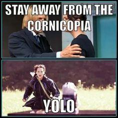 Katniss's YOLO Moment :)