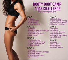 Hey I just tried out this Booty Boot Camp challenge and my buns are burning! Hey I just tried out this Booty Boot Camp challenge and my buns are burning! There's a free 21 day challenge too. Fitness Workouts, Fitness Herausforderungen, Health Fitness, Butt Workouts, Bubble Butt Workout, Gym Workouts To Lose Weight, Simple Workouts, Hiit Workouts For Beginners, Lifting Workouts