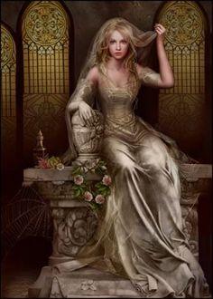 bride to be  Fantasy Art