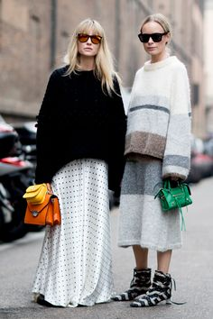 Lo street style dalla Milano Fashion Week autunno inverno 2017-2018