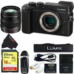 ($1,149.99-$1,899.99) Panasonic DMC-GX8 Lumix Digital Camera Bundle – CameraDiscountShop