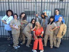 Cool Group Halloween Costume Idea: Orange is the New Black