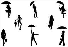 Women Vector Graphics Archives | #Silhouette Clip ArtSilhouette Clip Art