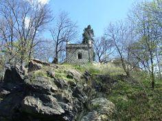 Prague- Hloubětín- new gotic bastion under chateau