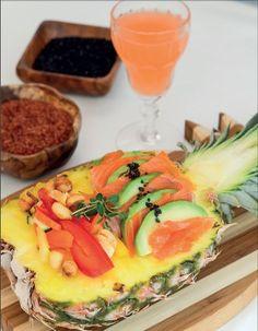 Kylmäsavulohi ananaksella