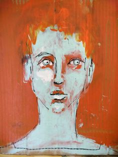 Abstract Faces, Abstract Portrait, Abstract Art, Watercolor Projects, Watercolor Art, Figure Drawing, Painting & Drawing, Marlene Dumas, Ap Art