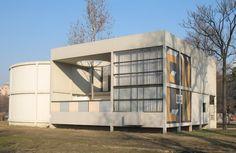 Pavilion Esprit Nouveau, Exposition of Modern Industrial and Decorative Arts; Le Corbusier