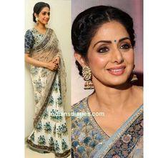 939a5a8879dd7 Shri Devi Silk Saree Net Indian Ethnic Designer Party Wear