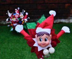Christmas Elf, Corsage, Elf On The Shelf, Groom, Bouquet, Holiday Decor, Home Decor, Homemade Home Decor, Grooms