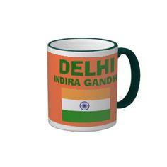 Delhi* (DEL) International Airport Mug; www.zazzle.com/airports*