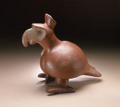 Parrot. Mexico, Colima, 200 BCE - CE 500. LACMA