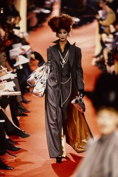 See the complete Andreas Kronthaler for Vivienne Westwood Fall 1993 Ready-to-Wear collection.