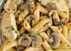 Syn Free Creamy Chicken and Mushroom Pasta – WW Recipes & Tips.