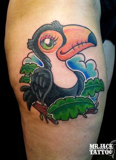 #tucano #tucanotattoo #tucanocartoon #toucan #toucantattoo #toucancartoon #tattoo #tattooartist #colorcartoon #color #mrjack #mrjacktattoo #mrjacktattooartist #tatuaggio #bodyart #arte