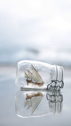#Ship in a #bottle! A great #iPhoneWallpaper!  Find out more galleries at http://iphone5retinawallpaper.com/gallery.php?cat=Vintage